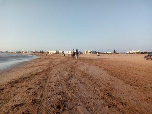 la plage d' Essaouira